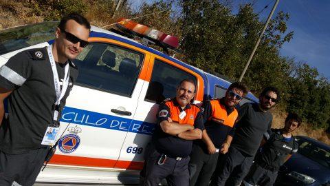 Jornada de entrenamiento con Protección Civil