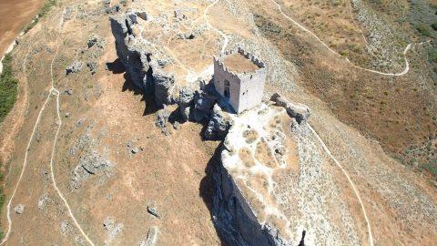 Modelado 3D en el Castillo de Oreja