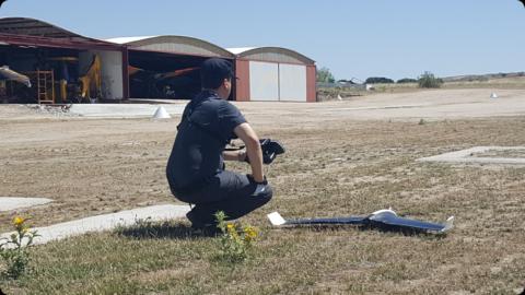 En el aeródromo Loring
