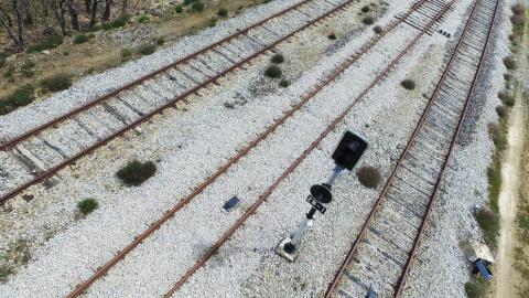 Inspección de vías ferroviarias