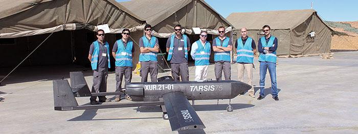 Sistema TARSIS 75 y su tripulación remota