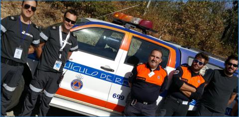 RITRAC forma a cuerpos de Policía Local y Protección Civil en Madrid