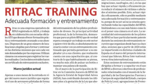 Formación y entrenamiento de pilotos remotos #RPAS